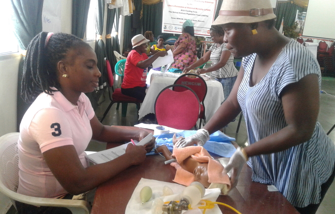 Midwives across Liberia remain committed to their tasks as the country must make in the reduction of maternal and newborn deaths.