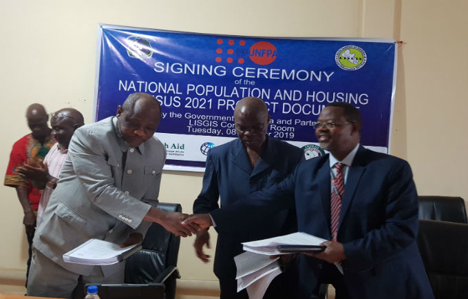 Government of Liberia and UNFPA commit to ensuring a successful census in March 2021