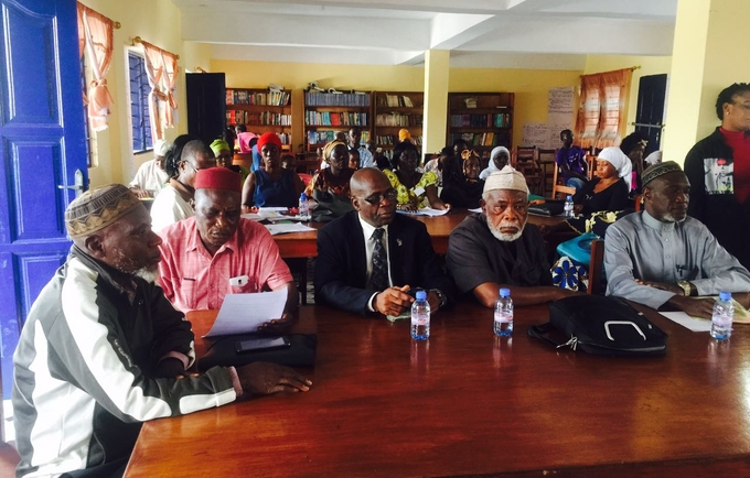 The 3-day dialogue was attended by executives of the Inter-religious Council of Liberia as well as representatives from the Council's Women and Children wings