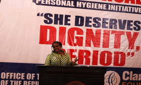 First Lady of Liberia, Madam Clar Marie Weah